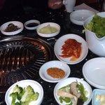 Side dishes & salad (Banchan & Kim Chee)