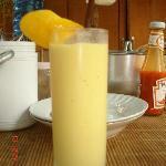最喜欢妈妈家的芒果奶昔
