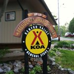 sign at Renfro Valley KOA