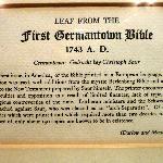 Erste Deutsche Bibel