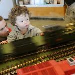 Child friendly train disply