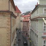 Street opposite Residence
