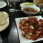 A delicious supper at Eden Garden