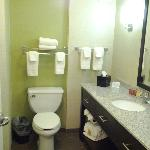 bath room area