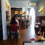 Philomene Cafe, decoração interna