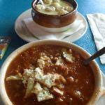 Maryland Crab Soup and Oyster Stew