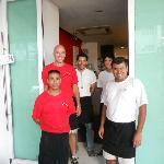 Deby City Burgers staff