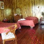 detalles en las habitaciones para luna de miel