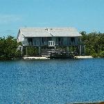Bahia Honda State Park raised cabins along lagoon