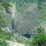 Barron Falls near the village of Kiranda