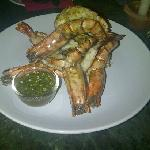 Delicious Grilled Prawns