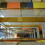 Hall: vue du 11e étage vers le bas