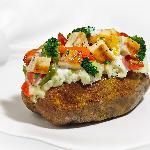 Grilled Chicken Caesar Potato