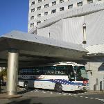 Flughafen-Shuttlebus