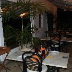 Veranda / Restaurantterrasse