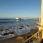 View of Malibu pier from room 102