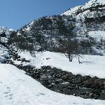 lieu de promenade et ski de fond (site protégé)