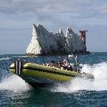 Skye Rose on her way back from the Needles
