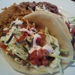 Tacos at Blue Adobe Grill