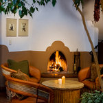 Agoyo Lounge Fireplace