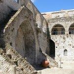 Inside yard of the monastery