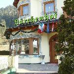 Lärchenhof Eingang zum Hotel