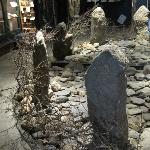 All the exhibitions were interesting - this stone circle was done with mirrors.