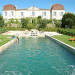 Vue du Chateau depuis le jardin