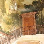 staircase in the Marais