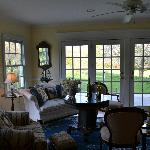 Sunroom- great in evening!