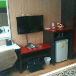 Room; TV, fridge etc