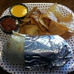 Datil Pepper Steak Burrito!