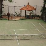 Full Size Tennis Court & Gazebo Area
