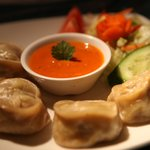 Mouth watering lamb momo