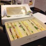 tuna sandwich. 12.5yuan