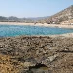 The nearby Playa de Playazo which is unspoilt.  30 minute walk/5mins in car - well worth it!