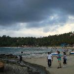 The beautiful kovalam Beach