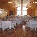Our Special Events Loft set up for a wedding