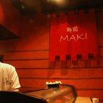 Maki Interior-Sushi Bar