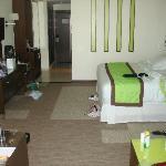 La habitación, muy cómoda, en el piso 28!