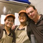 SANUK Thai Küche - bei der Arbeit :-)