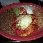 Crab Enchiladas - Ranchero style