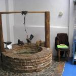Original well in kitchen, no longer in use