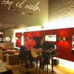 live gitar & piano. Voice of Vlaanderen