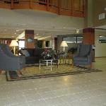 New seating area in lobby