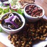 veggie plate- delicious!