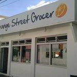 Orange Street Grocer Foto