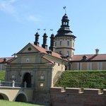 Nesvizh palace gates