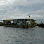 floating Tankstelle für Boote