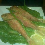 Pan-fried Red Mullet: nice and crispy!